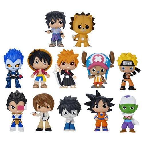 best of anime series 2 mystery minis include dbz naruto. Black Bedroom Furniture Sets. Home Design Ideas