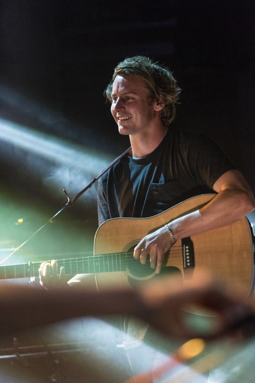 "One of the biggest influences in my life. ""Keep your head up, keep your heart strong."" - Ben Howard."