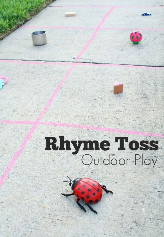 Outdoor play, Tossed and Get moving on Pinterest