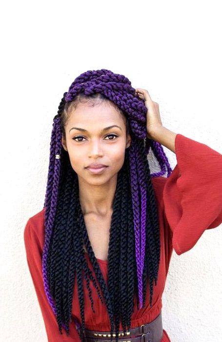 Long Yarn Braids In 2020 Yarn Braids Styles Crochet Yarn Braids Braided Hairstyles