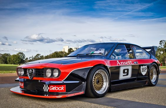 Chris Clearihan's Alfa Romeo Alfetta. He claims he once got it up to 180mph. (Who am I to doubt him.)