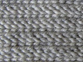 Crochet Stitch M2 : ven?j?ksi 1+1+1 lettireunus, Telemark Stitch, Russian Stitch 1+1+1 ...