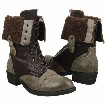 Wanted Women's Bobby Combat Boot