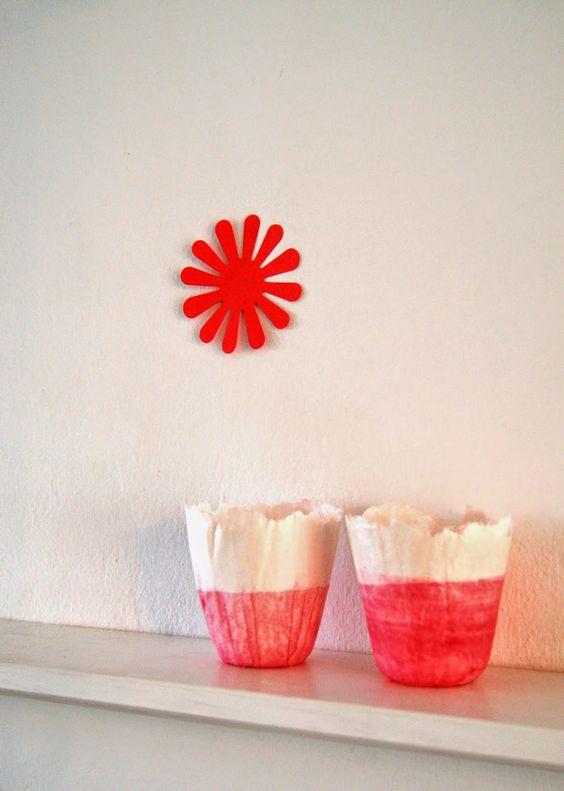 */fuchsart papierblüten paperflowers