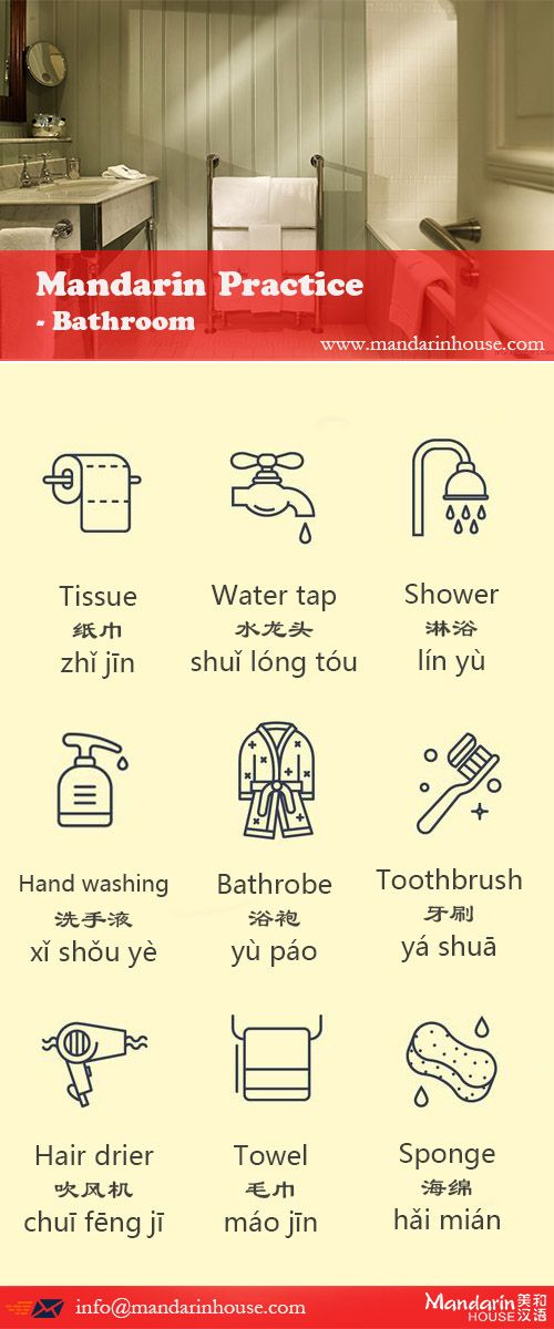 Bathroom product in Chinese.For more info please contact: bodi.li@mandarinhouse.cn The best Mandarin School in China.