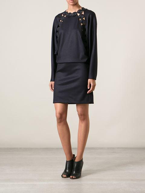 Chloé Cut Out Detail Dress - Jean Pierre Bua - Farfetch.com