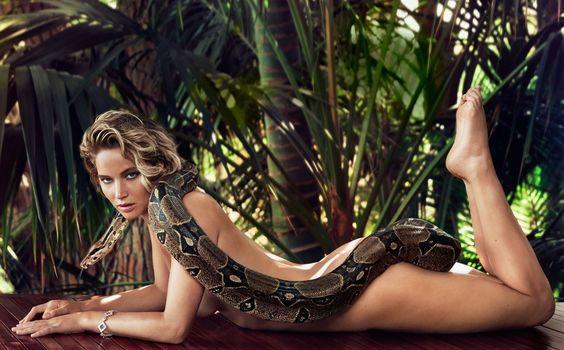 fierce Jennifer Lawrence