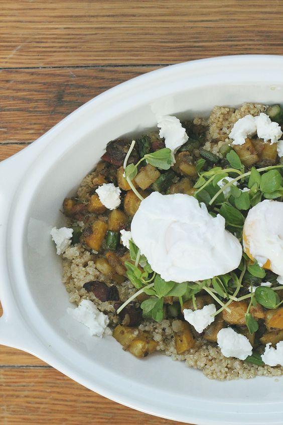 Kitchen Sink Quinoa from Inspired Kara (@Kara Gehret)