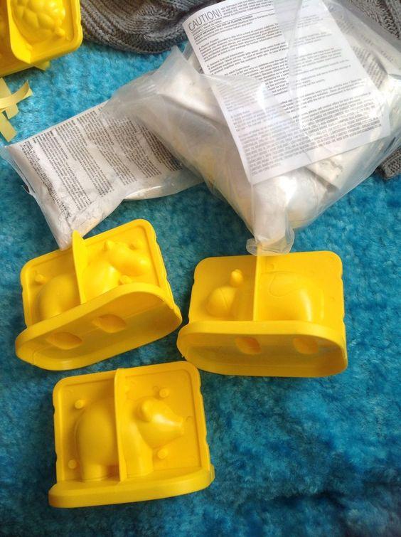 Kit molde de gesso - Animais da Fazenda - MaterniARTE