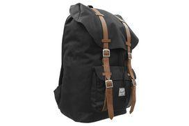 Herschel Bags `Little America` Backpack (Black)