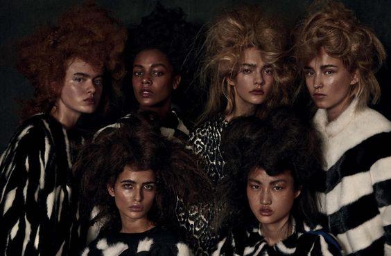 December`s Vogue Germany fur editorial!