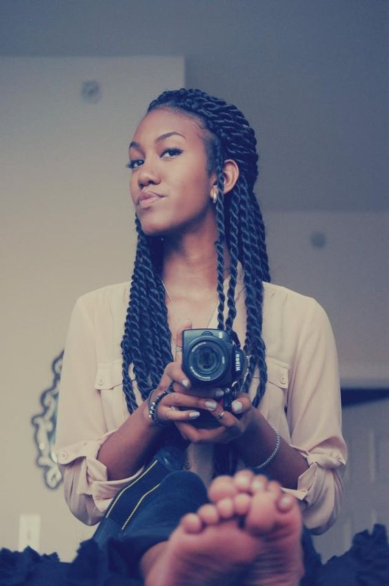 I want this hairstyle #TwistBraids