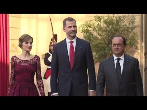 Francia se vuelca con la visita de los Reyes de España
