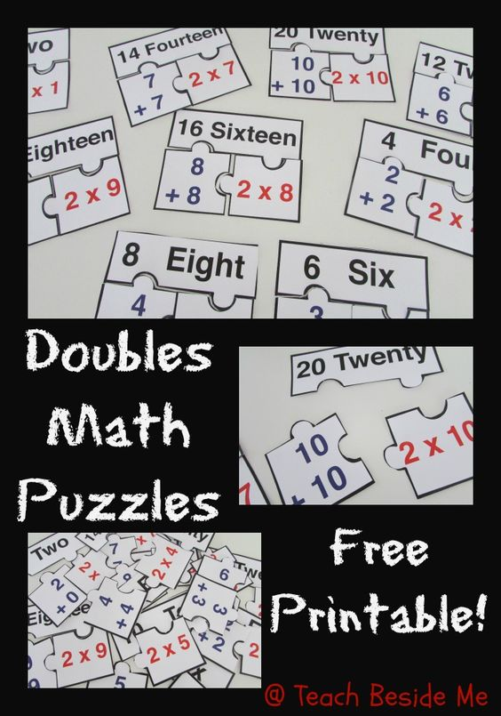 Math Puzzles Printable Free - math puzzle worksheets 3rd ...