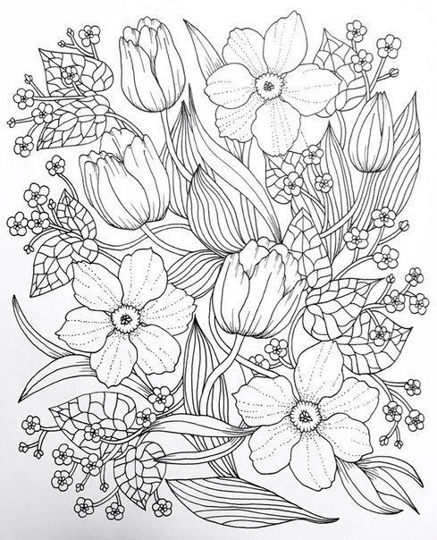 Coloring Page For Mindfulness And Meditation Coloringbooks Mandala Coloring Pages Flower Coloring Pages Mandala Coloring