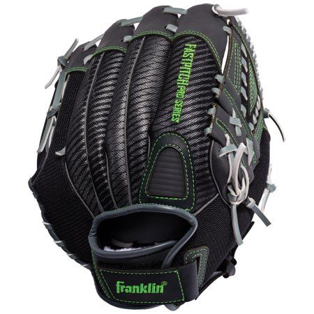 Franklin Sports 12 Inch Fastpitch Pro Softball Glove Lime Left Handed Thrower Green Fastpitch Softball Gloves Softball Gloves Fastpitch Softball