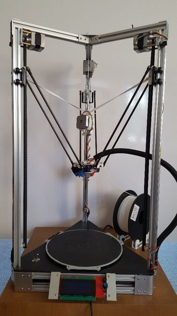 Picture of Delta Bot: Perfect DIY 3D Printer