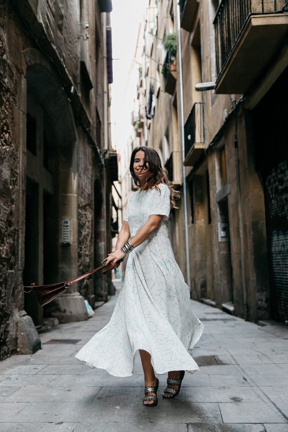 BARCELONA Collage Vintage waysify