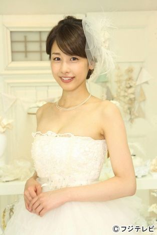 ベールをつけている加藤綾子