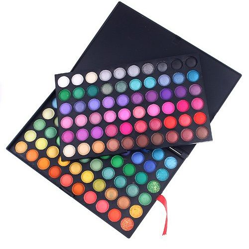 osell wholesale dropship Best Multicolor Makeup 120 Colors Professional Glitter Eyeshadow Palette Online $6.26