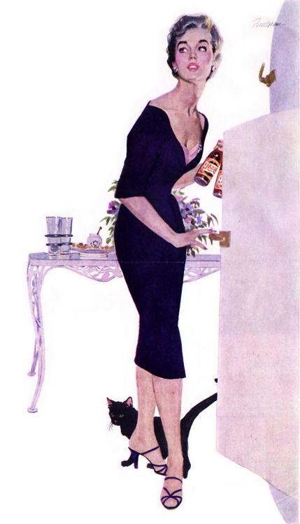 smbhax: Lynn Buckham, Pepsi ad, 1950s
