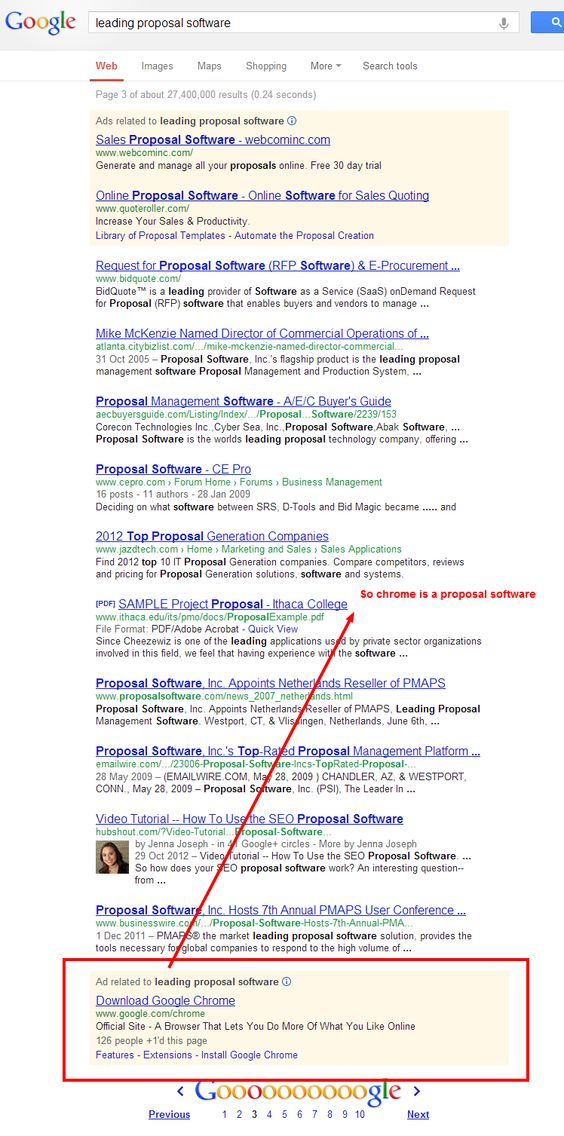 Google Says Chrome Is A Proposal Software Seo Pinterest