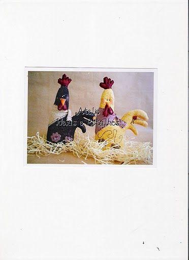 Desejo Craft: galinhas
