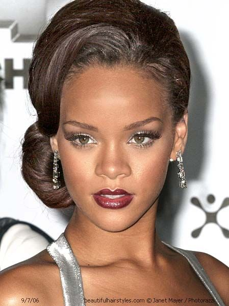 Strange Prom Hairstyles Hairstyles And Rihanna On Pinterest Short Hairstyles Gunalazisus