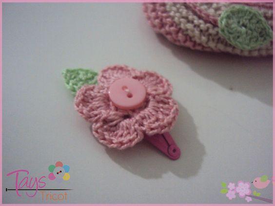 Para combinar com a sapatilha raminho rosa. R$2,00  www.elo7.com.br