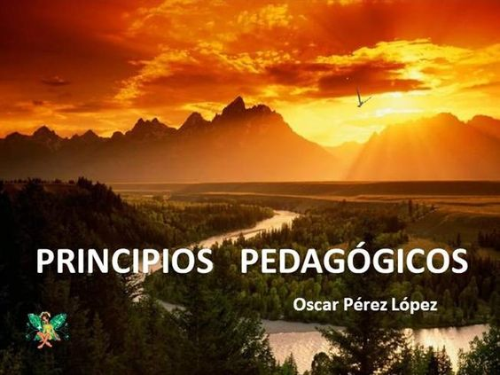 Principios pedagógicos by irmaarmas via authorSTREAM