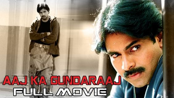 hindi dubbed movies of pawan kalyan - aaj ka gundaraaj poster