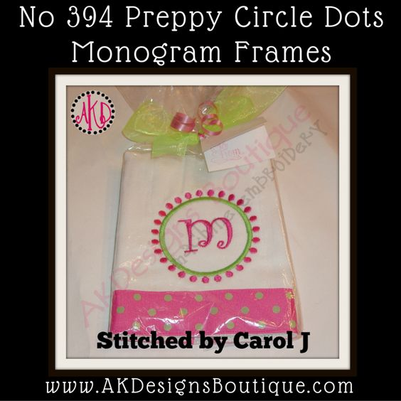 Circles dots and monograms on pinterest