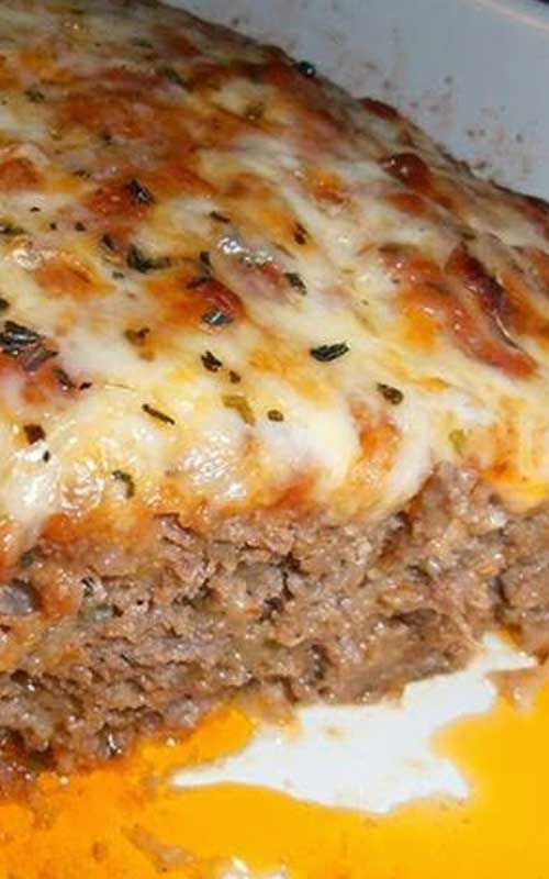 Italian Meatloaf | Recipe | Italian Meatloaf, Italian and ...