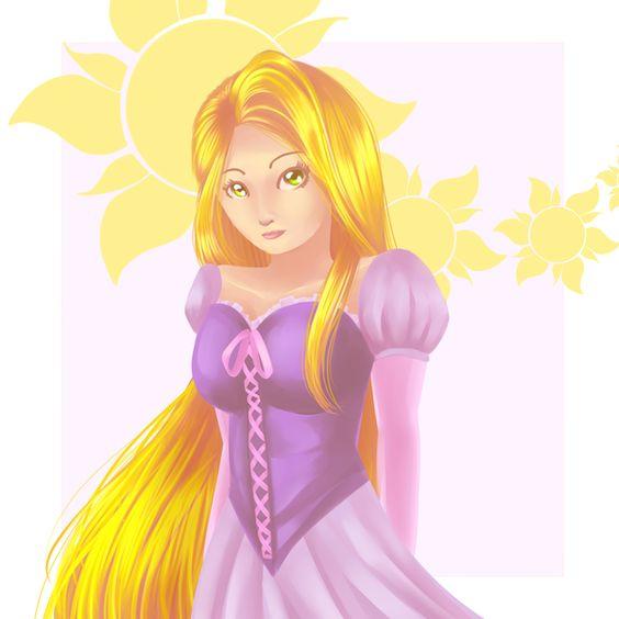 Rapunzel by ~danajayy on deviantART