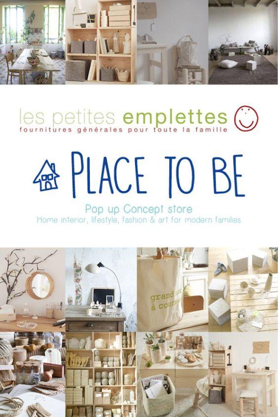 PLACE TO BE, pop-up concept-store de l'agence 2B&Co  |  Les petites emplettes • Ma Sérendipité