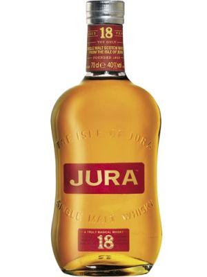 Whisky IX - Isle of Jura 18 Jahre - Tasting-Notes: In der Nase Aromen von Orangen, Zimt, Gewürzen, Toffee und Sherry. Ein Hauch von Kaffee und Marzipan folgt. Im Mund Aromen von Orangen-Marmelade, würzigem Toffee, Mandeln sowie etwas Zartbitterschokolade und Lakritze. Eine eleganter Whisky der ohne Wasser genossen werden sollte.