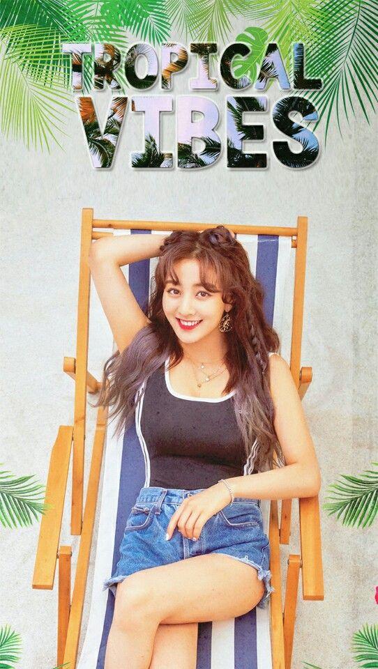 Park Jihyo Jihyo Twice Summer Nights Dance The Night Away