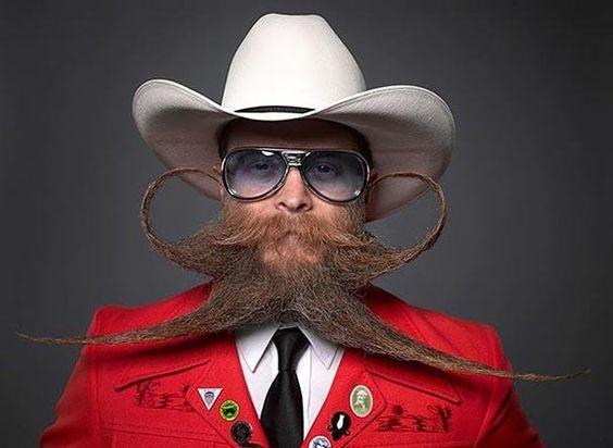 Les 20 plus belles photos du dernier championnat de barbes et moustaches