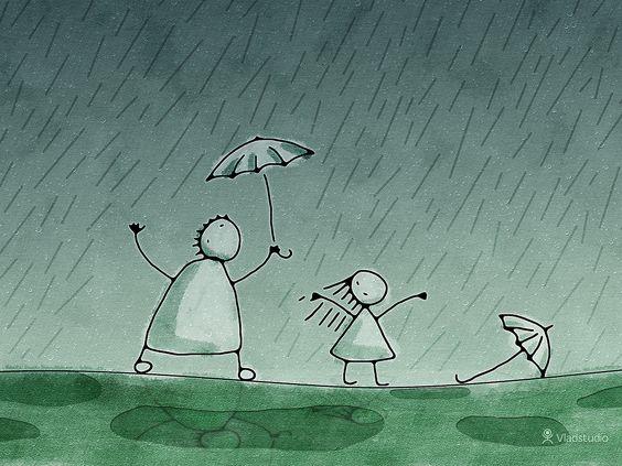 Rain.  :D