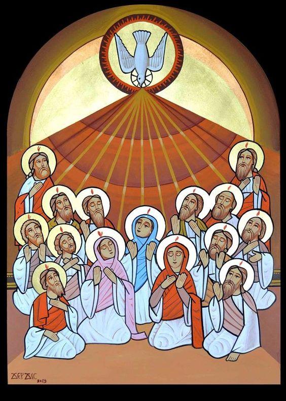 #Pentecost #Coptic