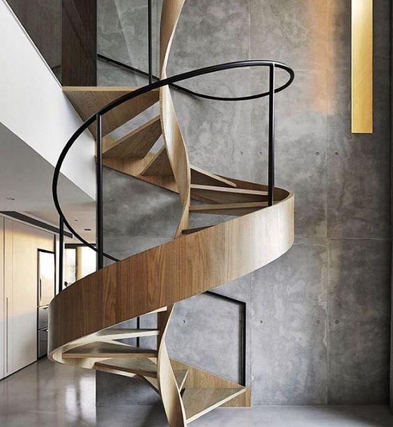 🇬🇧 #Staircase Design | #Wood /// 🇪🇸 Diseño de #Escaleras | #Madera