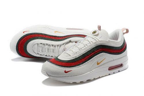 Orbita grano Marina  Best Quality Gucci x Sean Wotherspoon x Air Max 97 1 97 VF SW Hybrid White  Red Green | Nike air max 97, Nike air max mens, Nike air max