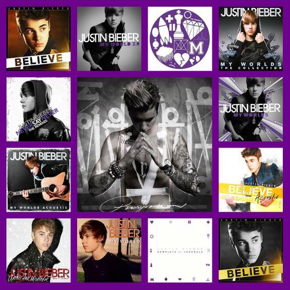 Justin Bieber Albums