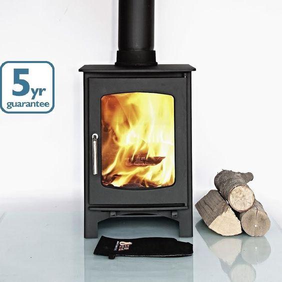 Old timer wood burning stove