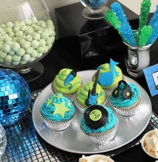 Rock Star Guitar Birthday Party Ideas   Photo 7 of 17   Catch My Party