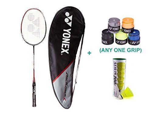 Yonex Voltric Lite With Yonex Badminton Overgrip Yonex Https Www Amazon In Dp B07b2j611s Ref Cm Sw R Pi Dp U X Sbem Racquets Yonex Badminton Racket Badminton