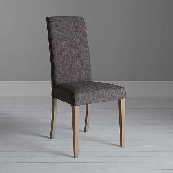 BuyJohn Lewis Asha Lydia Dining Chair, Grey Online at johnlewis.com