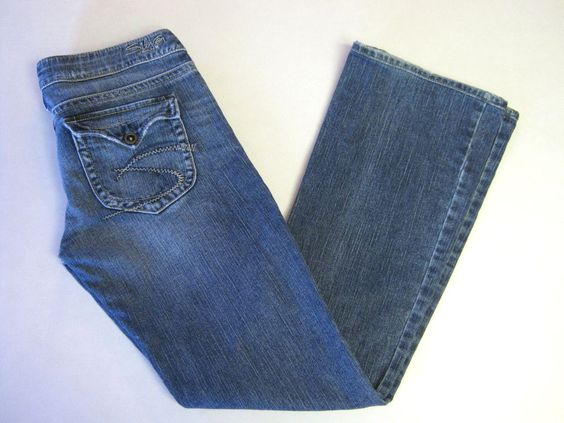 Silver Jeans 27 x 33 Pioneer Factory Distressed Flap Pockets Boot