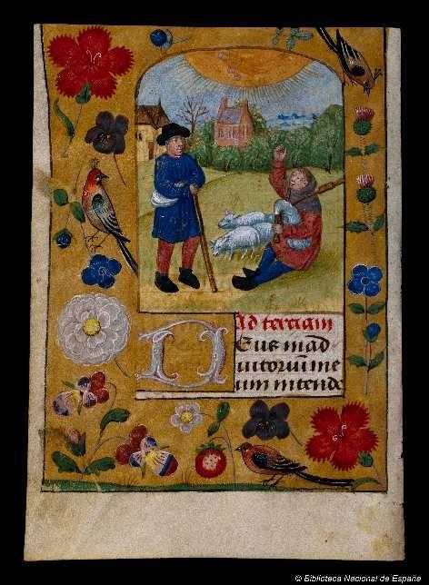 Libro de horas. Manuscrito — 1401-1500?
