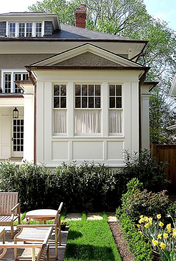 Business Design, A House And Window